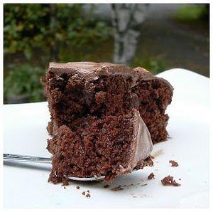 Gâteau au chocolat PLV free