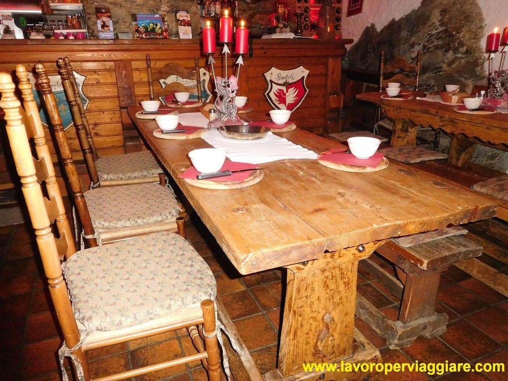 Mangiare al Castello di Sommeregg - Seeboden - Carinzia (Austria)