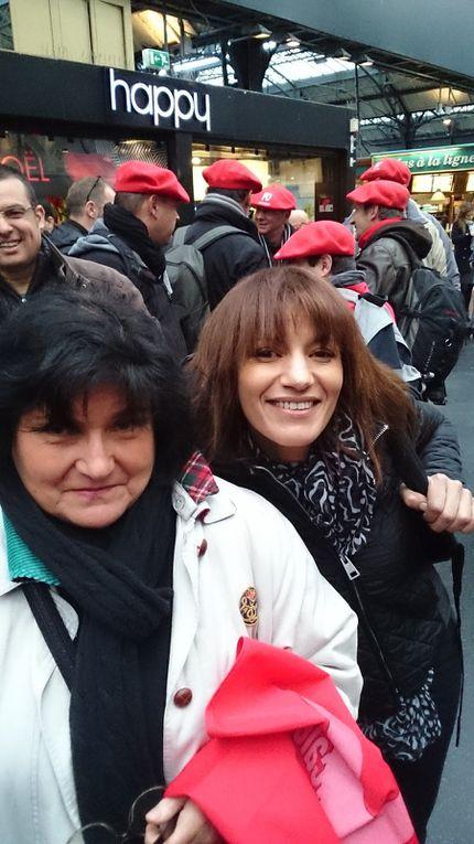 Rassemblement à Paris : FO CG57 était présent.