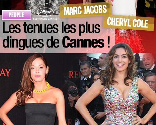 Les tenues les plus dingues de Cannes !