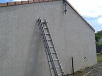 Puis idem pour la façade de la maison...