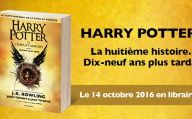 Réservez : Harry Potter et l'Enfant Maudit, de J.K.Rowling