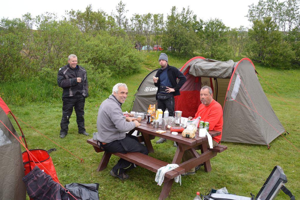Les photos de notre voyage à moto en Islande en juin 2013