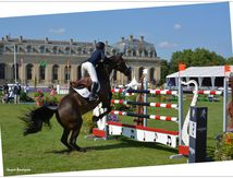 Champions Global Tour of Chantilly : black horse