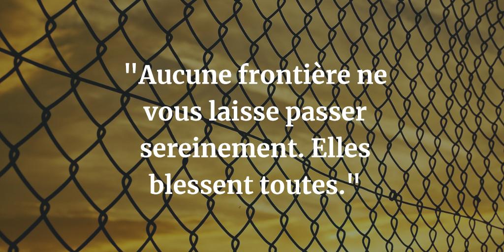 Gaudé par Lise - Frontière