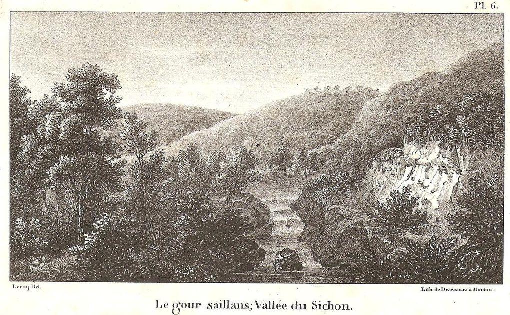 Œuvres (gravure, peinture,etc) d'artistes en rapport avec la province du Bourbonnais (Allier) rattachée à la région administrative Auvergne