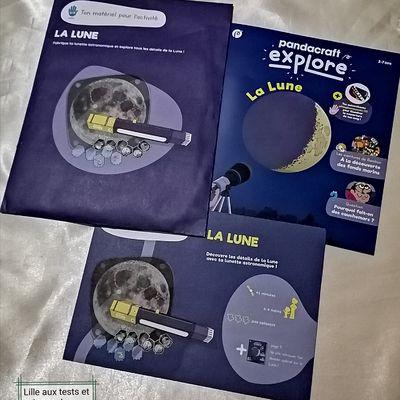 Kit Pandacraft Explore Août, La Lune