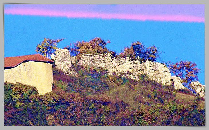 Diaporama château de Bellecombe - Chapareillan