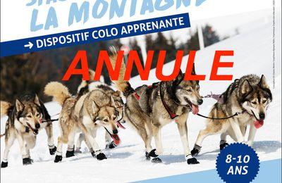 """""""ANNULE"""" Colo Apprenante : Stage Vacances à la Montagne"""