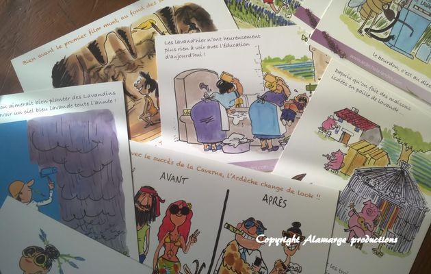 Cette série de huit cartes humoristiques est une création originale de Alamarge Production vendue par...