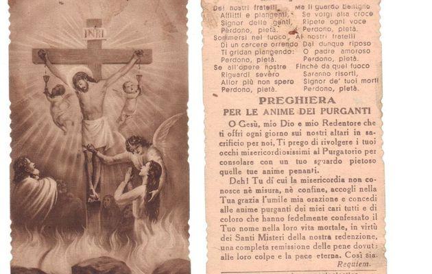 2 Novembre : Commemorazione dei defunti - Novene, Rosario ed altre Preghiere