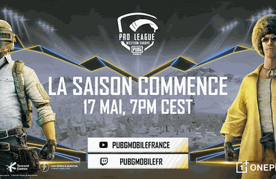 La PUBG MOBILE Pro League Western Europe Season 1 débutera le 17 mai