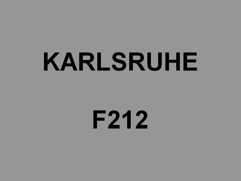 KARLSHURE  F212 , frégate de la marine allemande