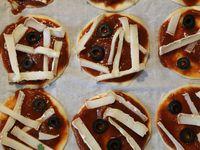 Les pizzas d'Halloween cuisine sur charlotteblablablog