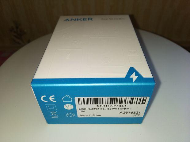 unboxing du chargeur secteur USB type C PowerIQ 18 Watts - Anker PowerPort III Nano @ Tests et Bons Plans