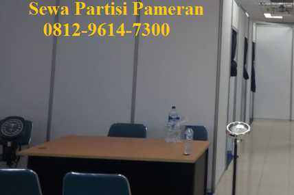 Sekat R8, Sewa Partisi Pameran, Sewa Panel R8, Sewa Fitting Room