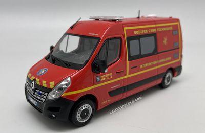 Renault Master 2014 VICT  du BMPM  (Eligor - Exclusivité MOMACO - 1:43)