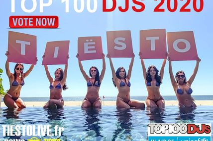 Top 100 Dj Mag 2020, vote for Tiësto now !