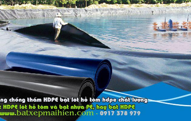 Bạt Lót Ao Hồ Nuôi Tom Tại Hạ Long Quãng Ninh, Bán Bạt Nhựa HDPE Giá Rẻ Quãng Ninh
