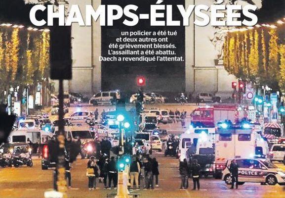 ATTENTAT des Champs-Élysées : un communiqué de la CGT POLICE.