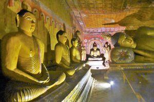 Sigiriya (3) ... Excursion au Temple d'Or de Dambulla