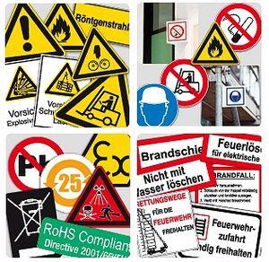 Brady-Sicherheitskennzeichnung für den besseren Arbeitsschutz