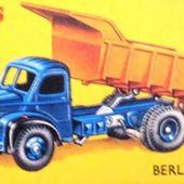 CAMION BERLIET GLM 10 BENNE CARRIERES MARREL DINKY TOYS PAR MECCANO 1/55 - GLM10 - TIP WAGGON - MULDENKIPPER - car-collector.net