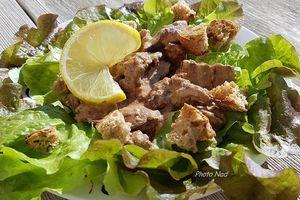 Salade de Foies de volaille à la Crème