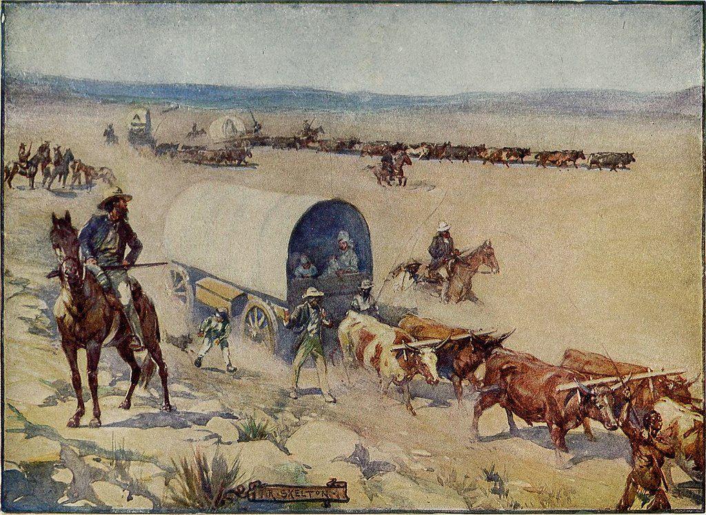 LesVoortrekkers- de J.S. Skelton (1909)