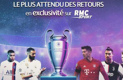 Le Final 8 de la Ligue des Champions et de l'Europa League en direct sur RMC Sport !