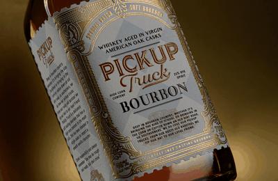 Packaging : Pickup Truck Bourbon