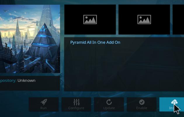 How to Install The Pyramid Kodi Addon