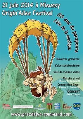 1er  Origin'Ailes Parapente Festival