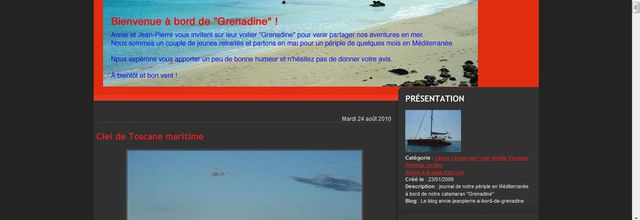 Le blog de Grenadine