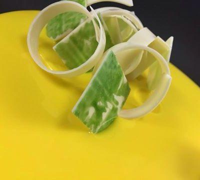 Entremet citron vert