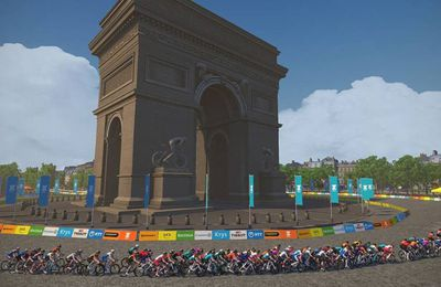 Le Tour de France Virtuel Zwift à suivre en direct ce week-end sur Eurosport et France TV !