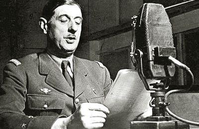 80e anniversaire de l'Appel du général de Gaulle.