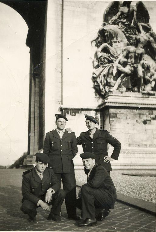 photos de la 7eme Cie a Hanoteau et de la 8eme Cie au Bordj Sergent Verley que m a fait parvenir Georges DECOVEMACKER  20 photos de Guy MARTINEAU et d autres