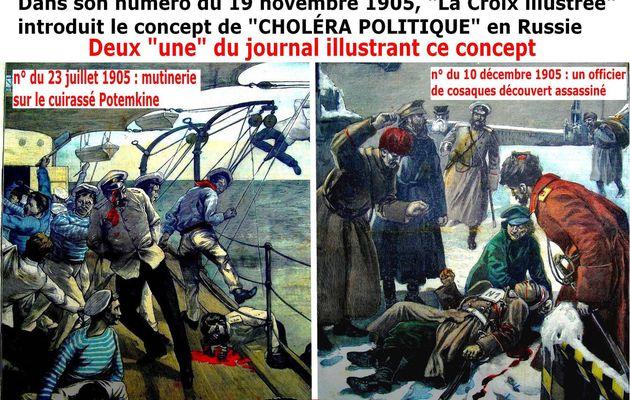 1905, ÉPIDÉMIES ET HYGIÈNE VUES EN IMAGES PAR LA CROIX ILLUSTRÉE (1) - du 29 avril 2020 (J+4151 après le vote négatif fondateur)