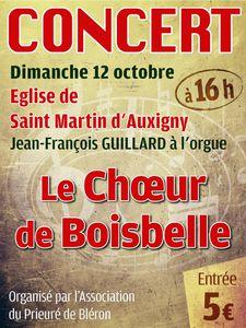 Concert  Choeur de Boisbelle