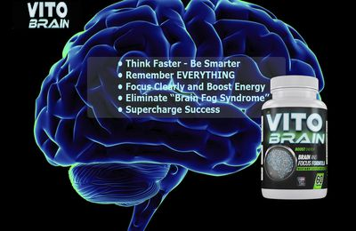 """Vito Brain Reviews:-Ingredients,Benefits""""Price to Buy"""" Side Effects & Read More!"""