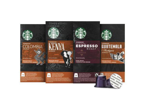 Grande distribution : Des capsules Starbucks en GMS