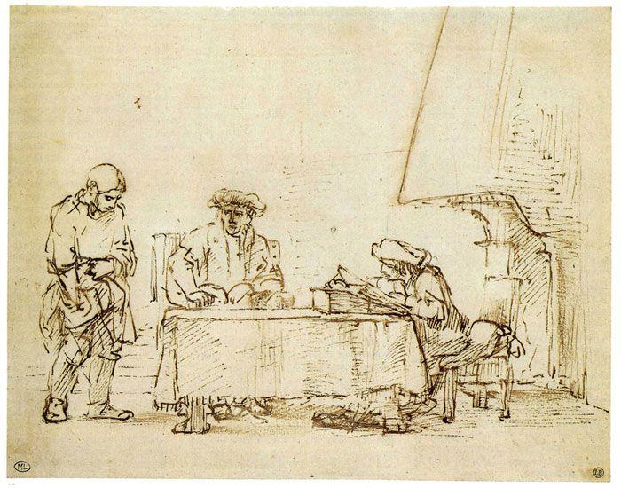 Parabole des talents de Rembrandt.