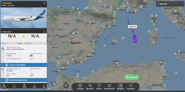 L'Algérie interdit le survol de son territoire aux avions militaires français