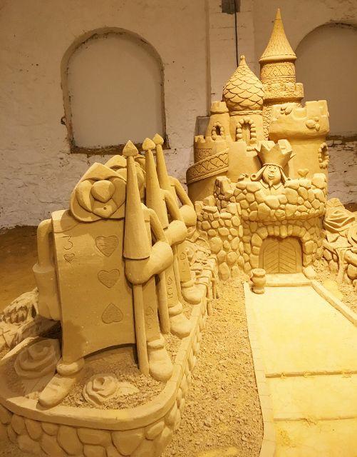 Expo Disneyland en sable - Citadelle Dinant - Belgique