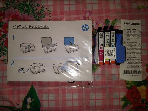 unboxing imprimante multifonctions jet d'encre HP Office Jet Pro 8022 @ Tests et Bons Plans