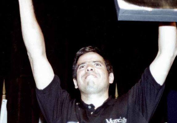 El campeón Luis Pérez Companc