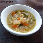 Minestrone - Soupe italienne aux légumes de saison