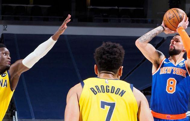 Austin Rivers inscrit 10 points dans le quatrième quart-temps pour offrir aux Knicks un troisième succès