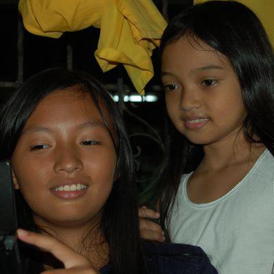 Visages d'enfants Philippins